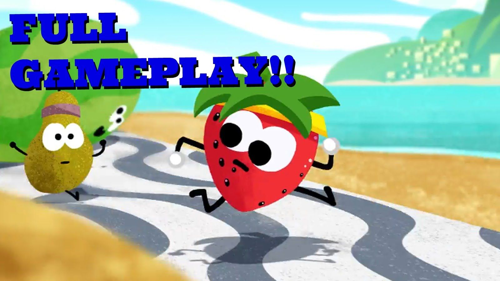 Doodle Fruit Games 2016 (FULL GAMEPLAY) Zuvo Google