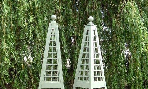 Wooden Garden Obelisk Towers Trellis Es Uk The Company