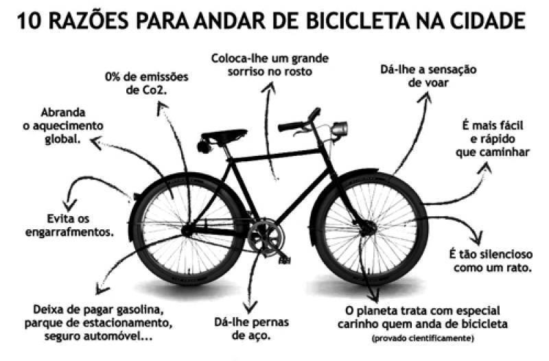 Niña Feliz Andar En Bicicleta: 10 Razões Para Andar De Bicicleta Na Cidade!