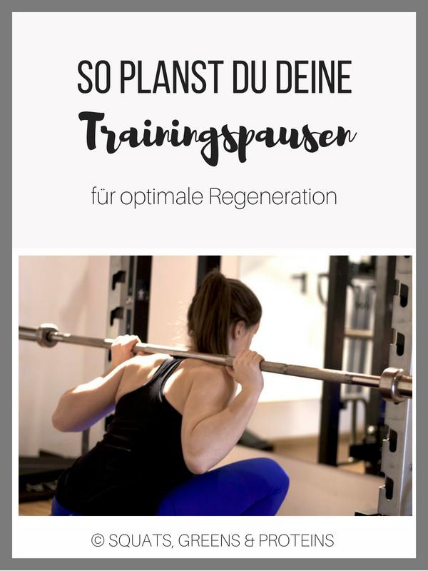 Wie Wichtig Ist Regeneration Darauf Solltest Du Bei Trainingspausen Achten Squats Greens Proteins By Melanie Training Sport Tipps Fitness
