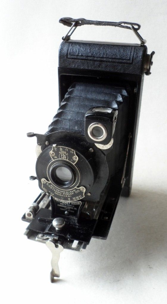 Kodak No 1 Pocket 120 Roll Film Folding Autographic Camera
