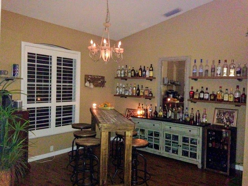 We Converted Our Dining Room To A Home Bar Bars  Pinterest Brilliant Basement Dining Room Design Decoration
