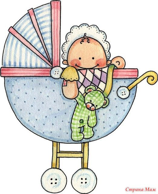 Картинка ляльки в коляске