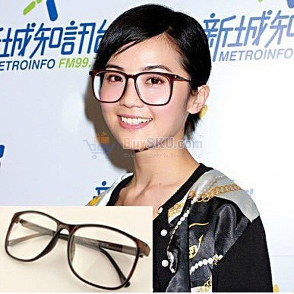 big eyeglasses vogue big eyeglasses acetate glasses frame with flat lens sh201