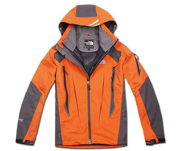 Mens The North Face 3 In 1 Jackets Orange