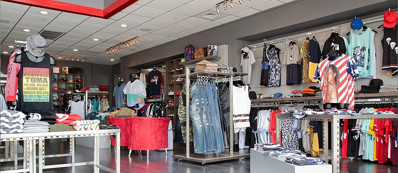 Land Of Flyy In Atlanta GA Mens Boutique Apparel Retail Design By Shop