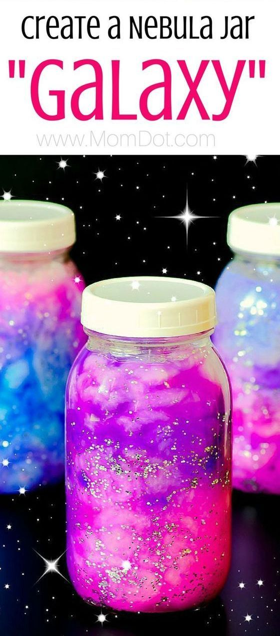 Create nebula galaxy jars