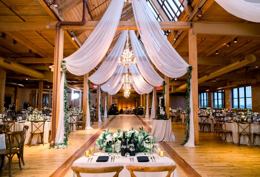 Skyline Loft Bridgeport Art Center Chicago Bridgeport Art Center Space Wedding Chicago Wedding Venues