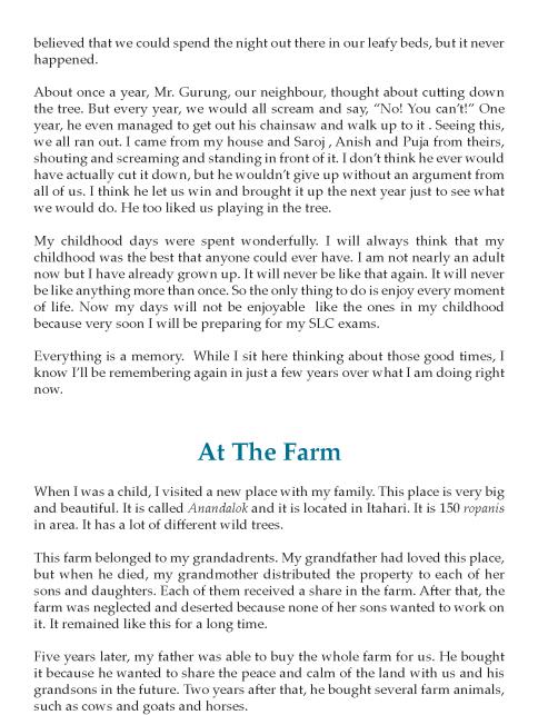 8th Grade Reflective Essay Sample Writing Skill Ielt Narrative Grandfather
