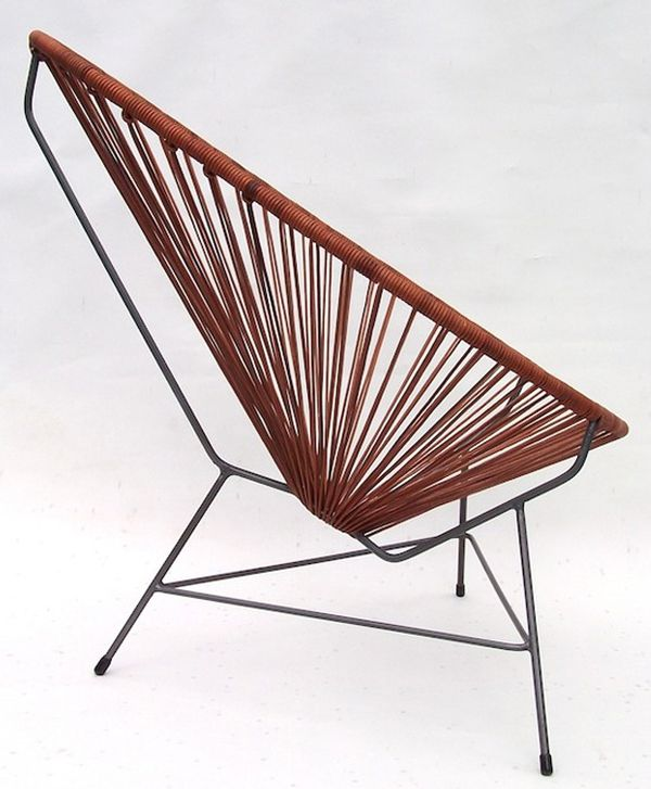 Leather Acapulco Chair From Ocho, Ethically Made In Mexico.