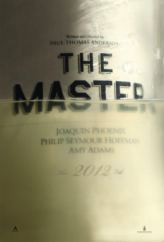 The Master (teaser), designed by Dustin Stanton, 2012.