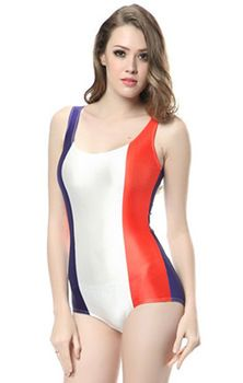 afaa032f0c NEW SUMMER FASHION FRENCH FLAG THREE STRIPES DIGITAL PRINT SEXY ONE PIECES  FOR WOMEN LADY BEACHWEAR SWIMWEAR GALAXY BATHING SWIMSUIT SKINNY ELASTIC  BODYSUIT ...