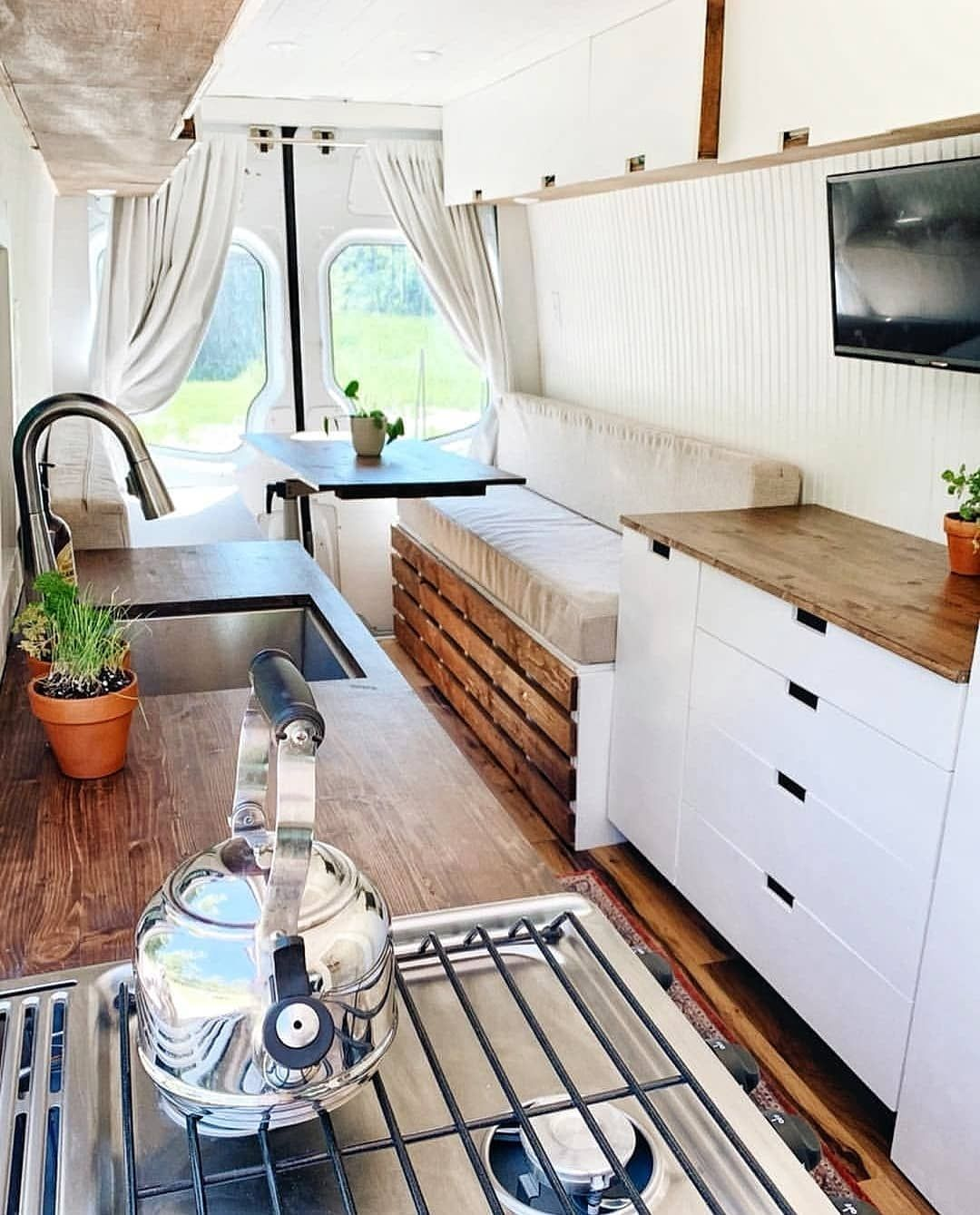 """Photo of CARAFANCY on Instagram: """"🌿VAN CONVERSION GOALS🌿 Check out the shower! …"""