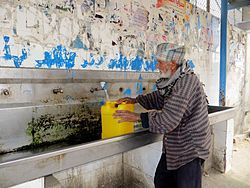 Water supply and sanitation in the Palestinian territories - Wikipedia, the free encyclopedia