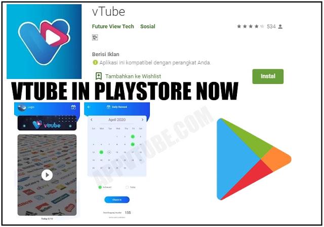 Aplikasi Vtube Terbaru Vtube Playstore Aplikasi Marketing Perjalanan Bisnis