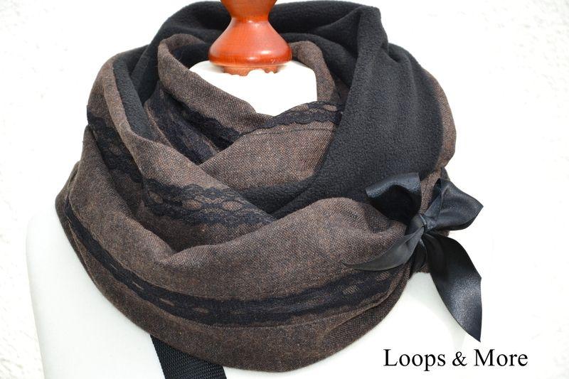 "LETZTER!!!! Bestseller Loop ""ELIZA"" von Loops & More auf DaWanda.com"