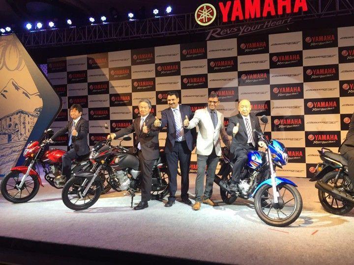 Yamaha Saluto Rx Launched At Rs 46 400 Yamaha Product Launch Bike