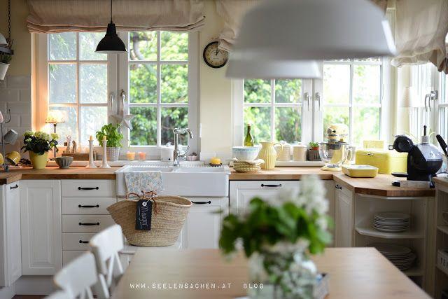 Seelensachen Kuche Haus Kuchen Kuche Einrichten Und Landhauskuche