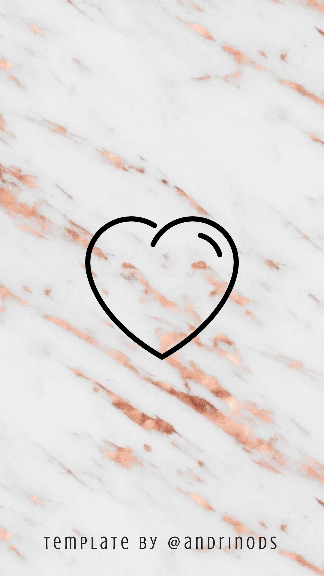 Instagram Highlight Covers Rose Gold Marble Instagram Highlight Icons Instagram Background Instagram Heart