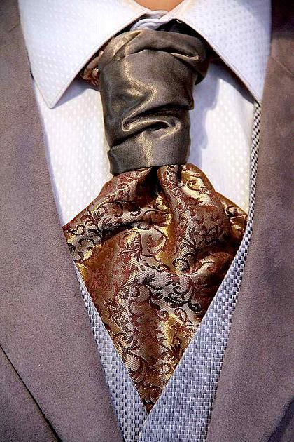 CHATEAU de'SUCCESS Hybrid Necktie from Sterling Scott.  33% off with Promo Code TIEGUY33
