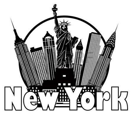 r sultat de recherche d 39 images pour dessin gratte ciel new york dessins divers ballons. Black Bedroom Furniture Sets. Home Design Ideas