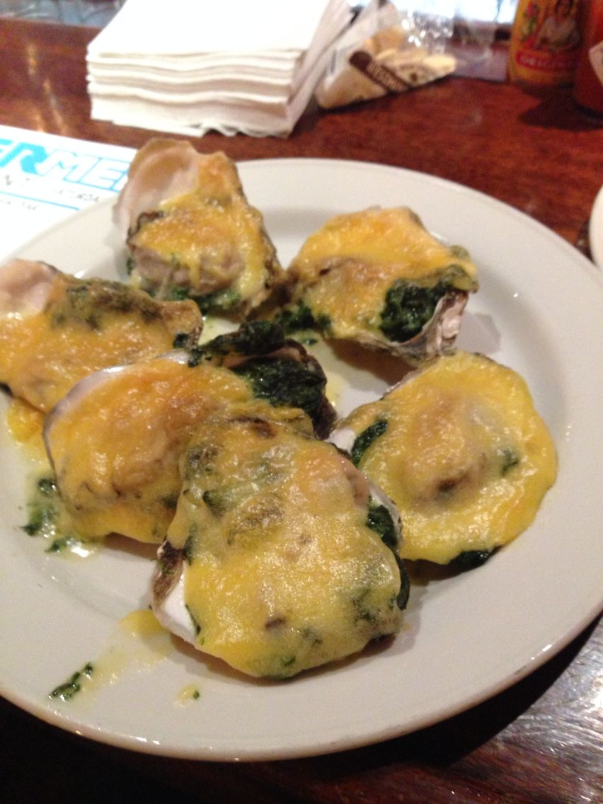 Oysters Rockefeller At The Oyster Bar In Grand Central Terminal In