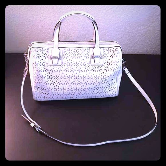 I just added this to my closet on Poshmark: Coach Taylor Eyelet Satchel. Price…