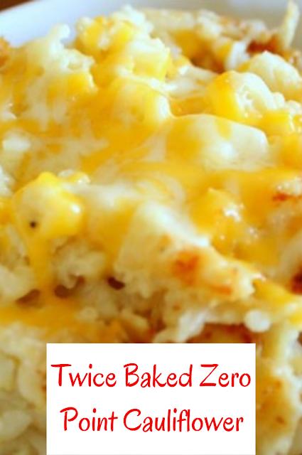 Photo of Twice Baked Zero Point Cauliflower – FOOD & RECIPES