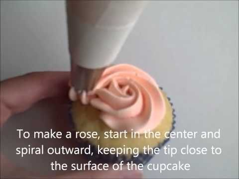 How to ice a cupcake