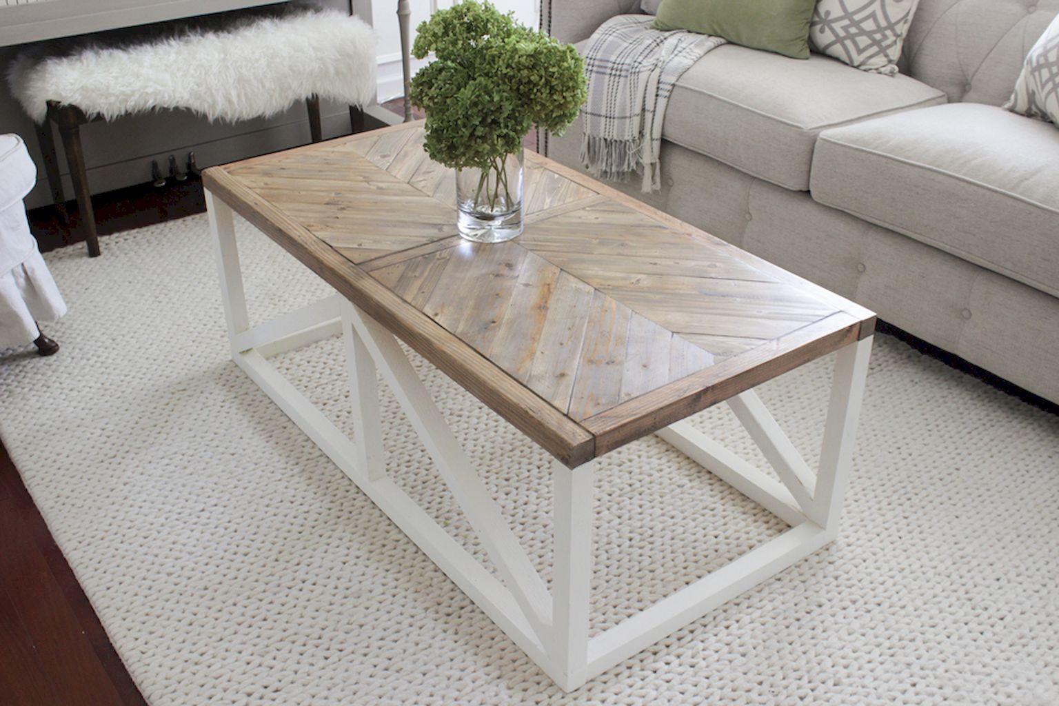 30 Inspiring DIY Rustic Coffee Table Ideas Remodel in 2020