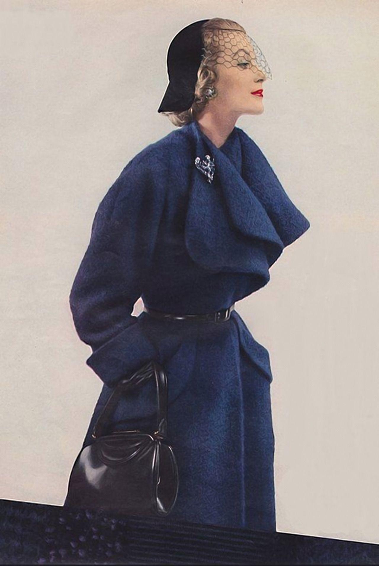 new styles e2600 8d2cd Cappotto per Vogue 1951 | Moda Donna | Cappotti, Moda e ...