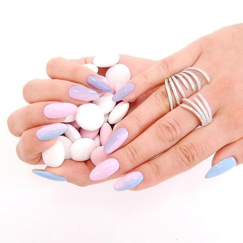 Pin Od Neonail Professional Na Hot Spring 2018 Pastel Nails