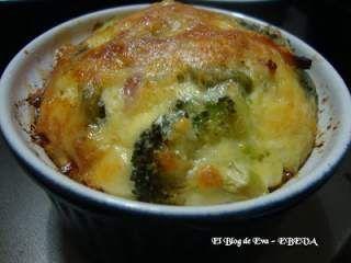 Clafoutis de jamon y brocoli, Foto 5
