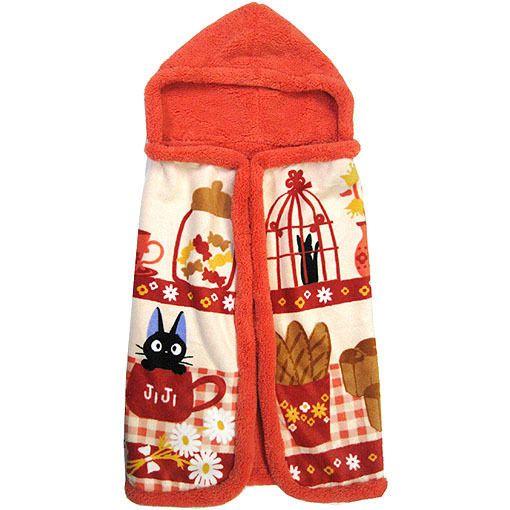 Kiki's+Delivery+Service+Jiji+hooded+Blanket+Studio+Ghibli+cute+Kawaii+