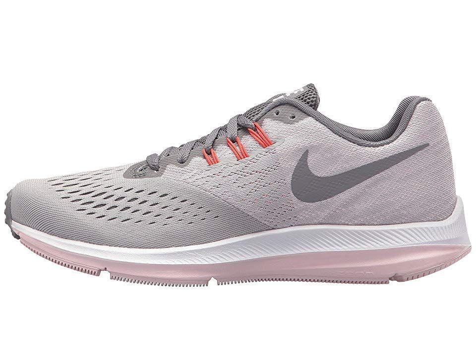 1eff1fb880d2 Nike Air Zoom Winflo 4 Women s Running Shoes Atmosphere Grey Gunsmoke Arctic  Pink
