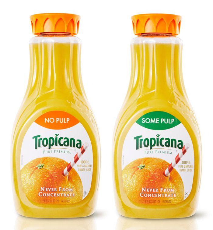 Tropicana Carafe bottle