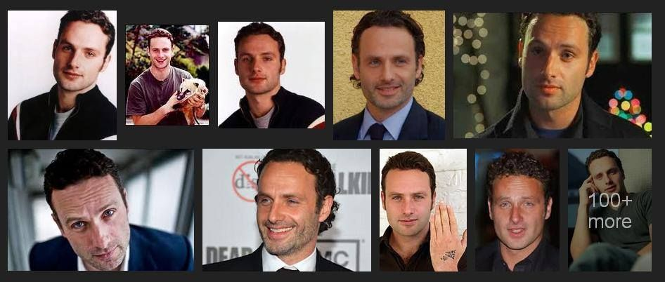 Andrew Lincoln  Click visit the facebook page for more info