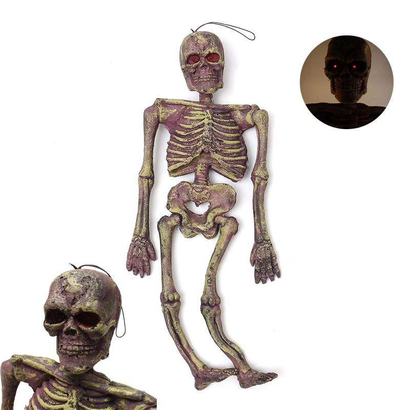 Halloween Party Decoration Luminous Vocal Simulation Frame Skeleton ...