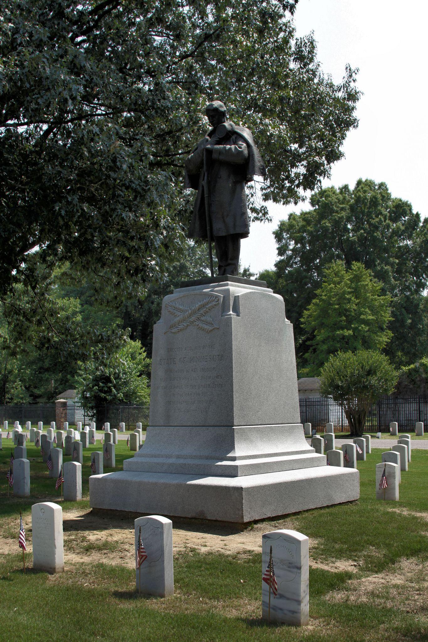 MINNESOTA MONUMENT Andersonville prison, National
