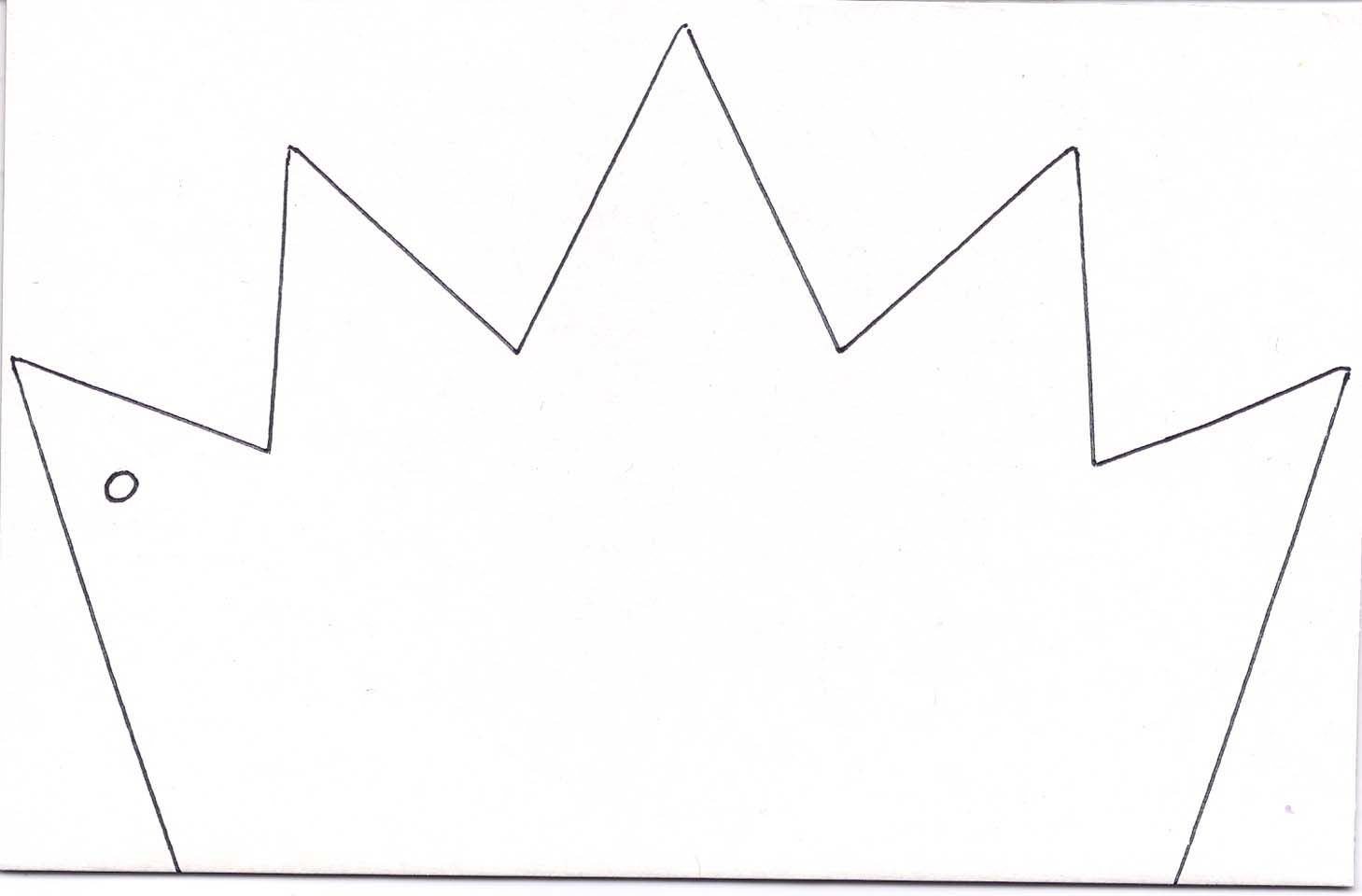 Crown Template 1 Clipart Best Clipart Best Crafts For Kids