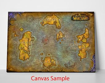 World Of Warcraft: Map of Azeroth   decorations by ecuadorbound10 ...