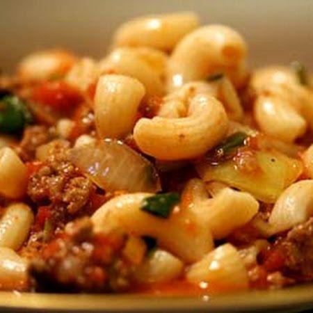 Hamburger And Macaroni Recipe Recipe Recipes Beef Recipes Food
