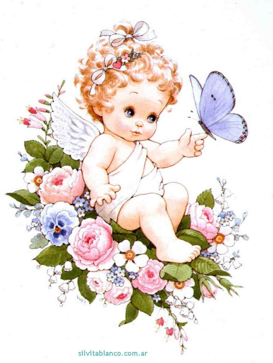 Angelitos Dibujos Ilustraciones Infantiles Cute Printables