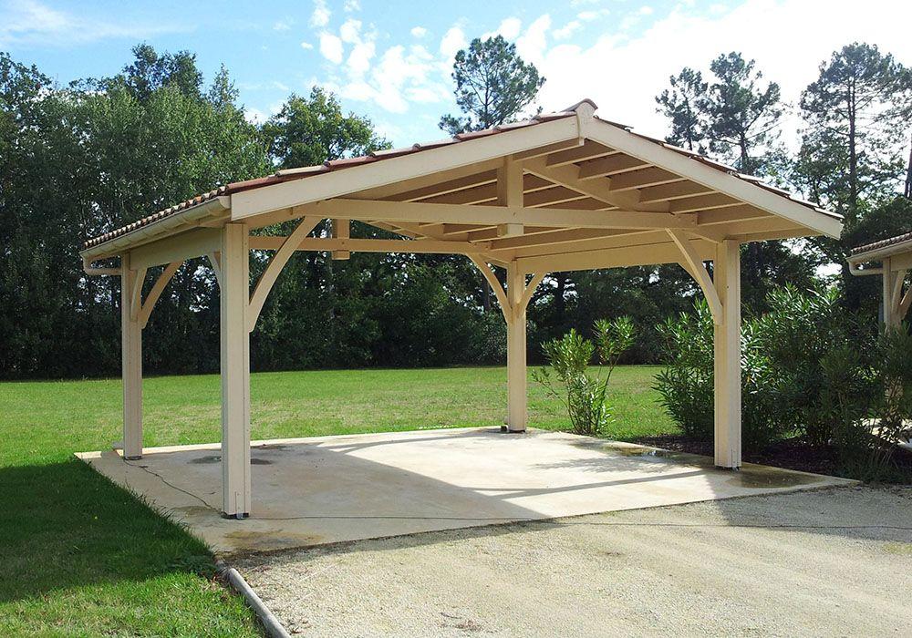 Table De Pique Nique Couverte En Bois Pergola Couverte Abri Voiture Table De Pique Nique