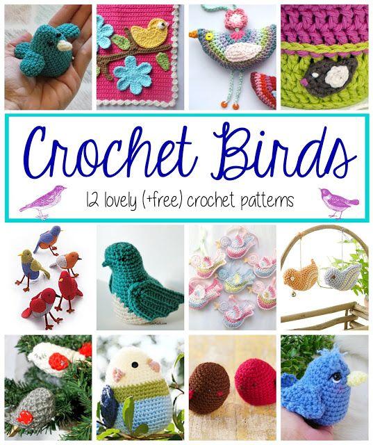 Crochet Birds! 12 Lovely Patterns... | Amigurumi | Pinterest ...