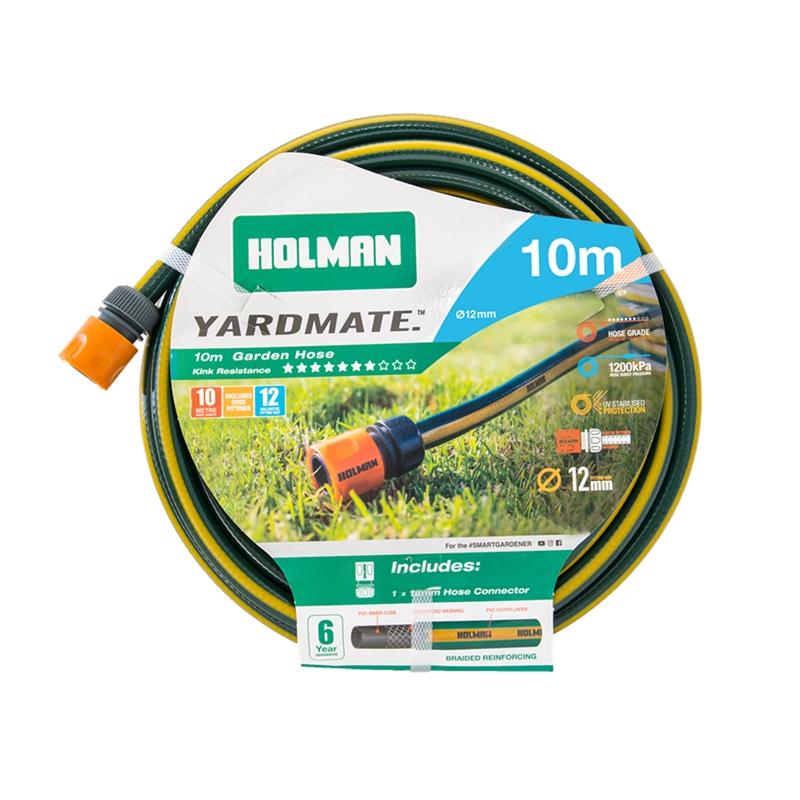 Holman 12mm x 10m Yardmate Garden Hose Garden hose