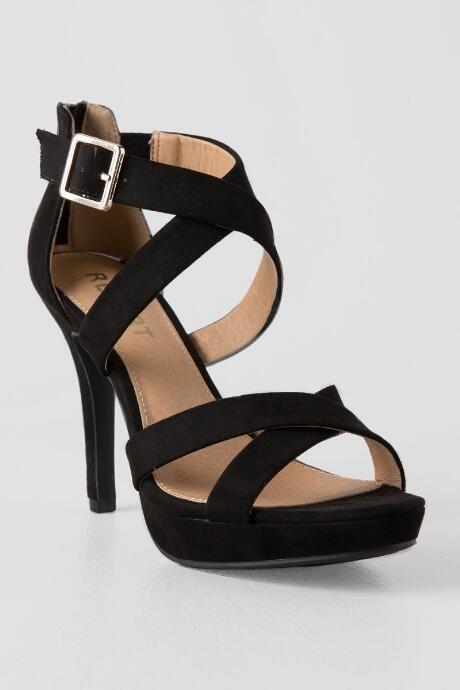 Report, Lavia Black High Heel | Heels
