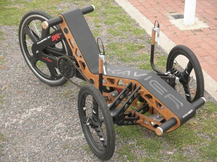 Skil powered vehicle by Alan Fratoni at Coroflot com | Recumbent