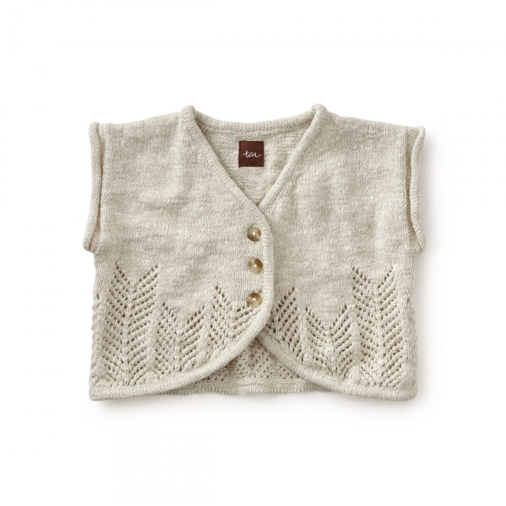 Gioconda Baby Cardigan | Gioconda is an Italian girl's name that means happy and jovial. Layer this cardigan over tops, tunics and dresses for a delightful look.