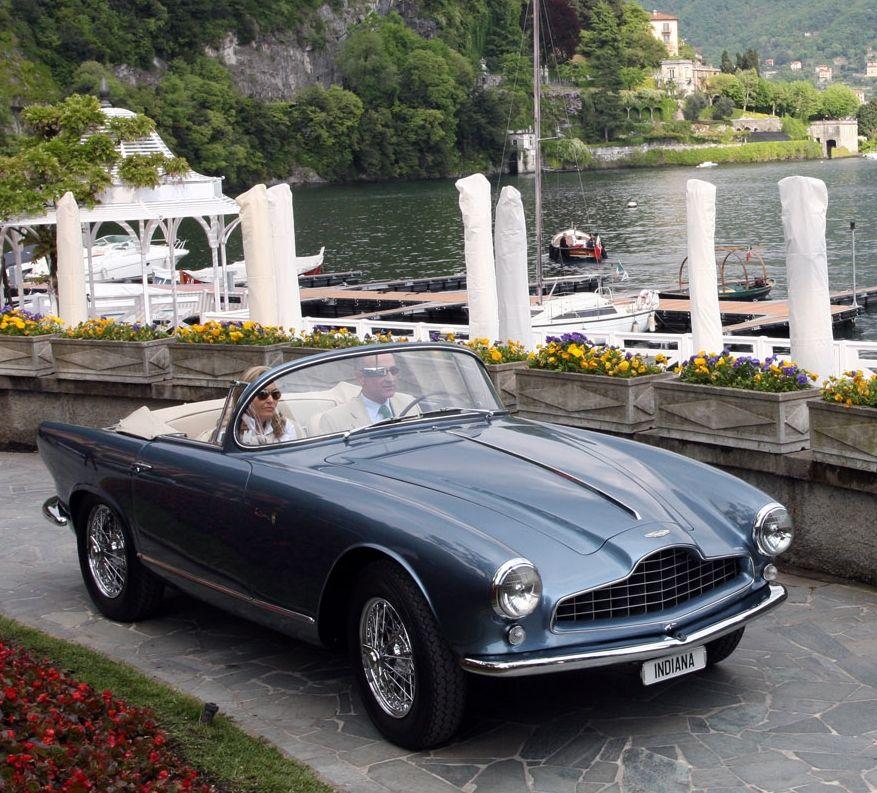 1954 Aston Martin DB2/4 Bertone Spider 'Indiana'